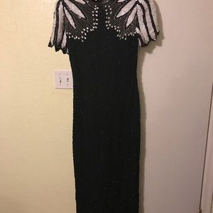 Fully beaded size 0/2 prom/formal dress